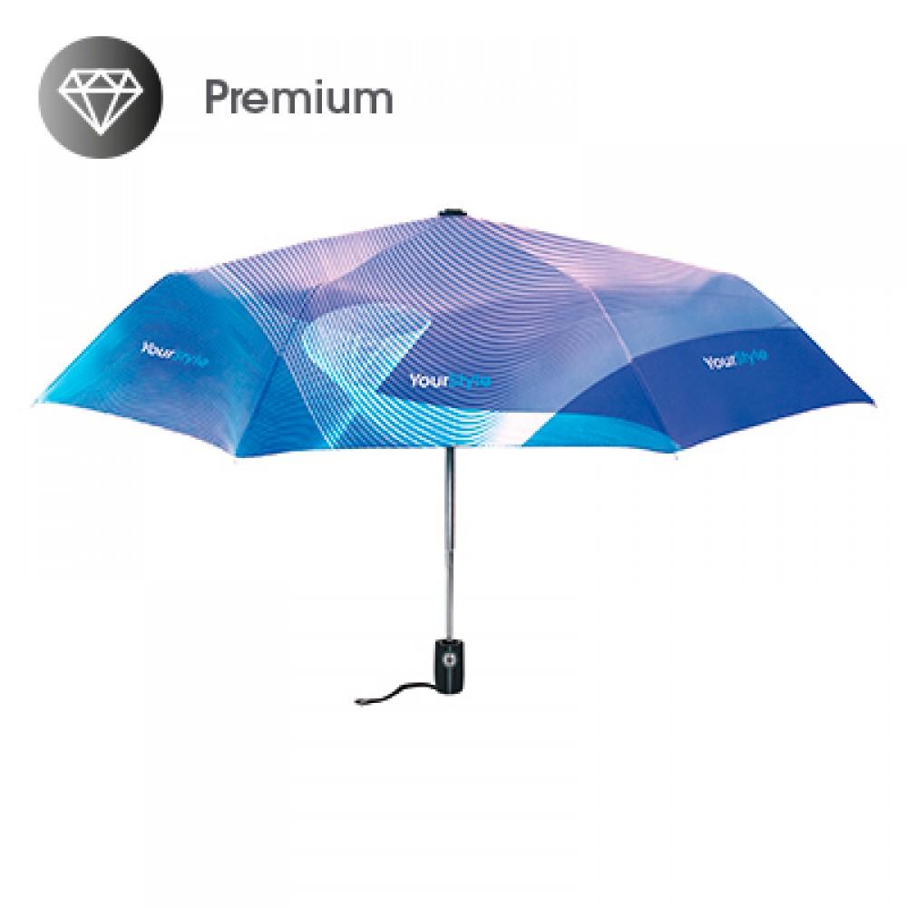3-delni zložljiv promotion premium dežnik